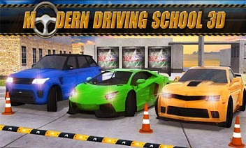 3D moderne Driving School