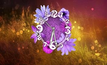 Blomma klocka