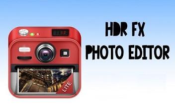HDR FX محرر الصور