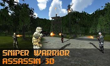 قناص قاتل المحارب 3D