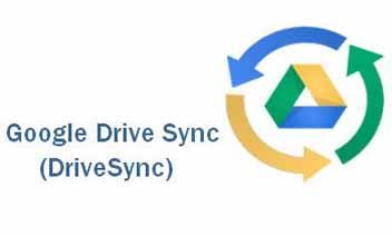 محرك جوجل سينك (DriveSync)