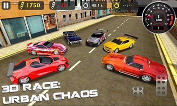3d Race: Urban Chaos