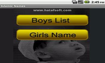 Islamscy muzułmańskie nazwiska dziecka