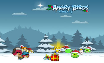 Angry Birds Seasons live wallpapers