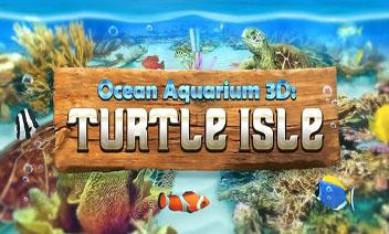 Ocean Aquarium 3D Turtle Isle