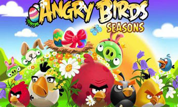 Angry Birds Seasons - påskägg