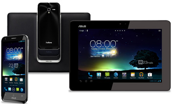 ASUS Padfone 2 actualizado a Jelly Bean