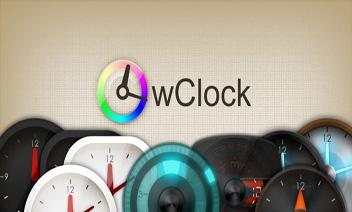wClock widget Full