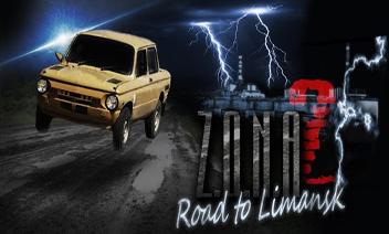 Route ZONA à Limansk HD - Zone Chernoblskaya