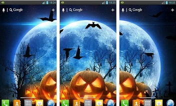 Halloween HD uživo Wallpaper
