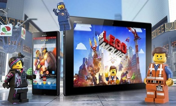 XPERIA ™ Den LEGO® MOVIE ™ Theme