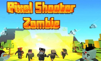 Pixel shooter: Zombies