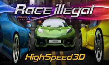 Carrera ilegal: High Speed ​​3D