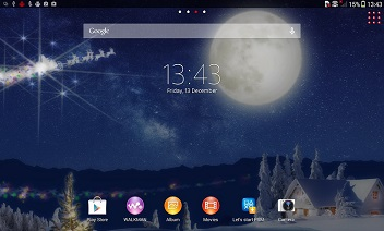 XPERIA ™ Christmas Theme
