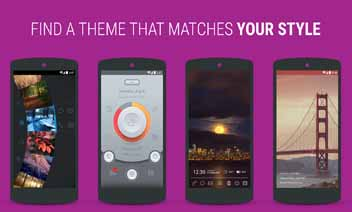 Themer: Launcher, tapet HD