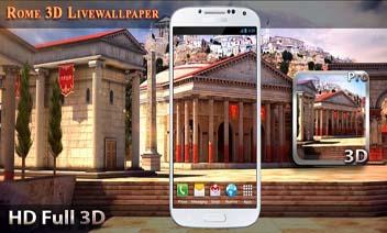 روما 3D لايف للجدران