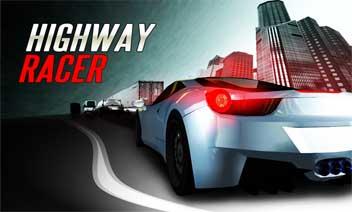 Autostradă Racer vs mașini de poliție