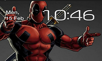 Deadpool uživo Wallpaper