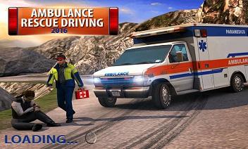 Ambulans ratunkowy Jazdy 2016