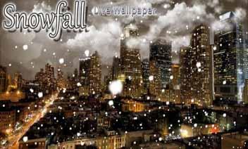 SnowfallLiveWallpapers - Ninsoare live Wallpaper