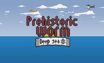 Prehistoric worm: Deep sea