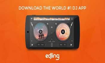 Edjing - table de mixage DJ