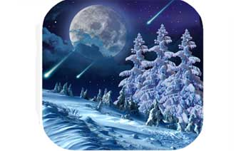 Winter night Wallpaper - Winter Night Live Wallpaper