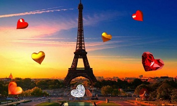 Valentine Paris live wallpaper