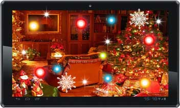 أغنية عيد الميلاد لايف للجدران