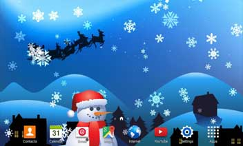 Christmas Magic Live Wallpaper