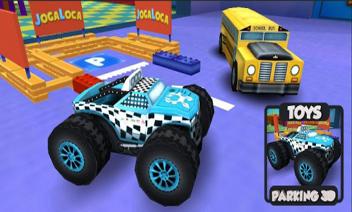 Toy s parkering 3D
