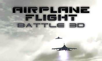 Airplane flight battle 3D