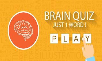 kviz Brain: Samo jedna riječ!
