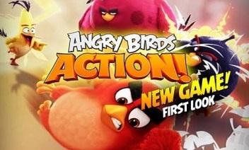 Angry Birds Akcija!
