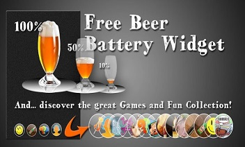 Gratis Bier Battery Widget
