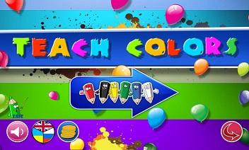 Renkleri öğrenin.  Çocuklar alışveriş