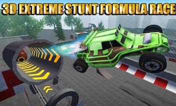 3D extrema stunt: Formel racer
