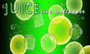 Juice live wallpaper