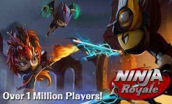 Ninja Acțiune RPG: Ninja Royale