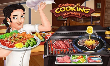 Konyha főzés őrület