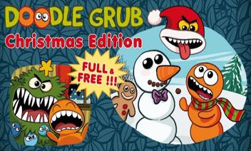 Doodle Grub Edition คริสต์มาส