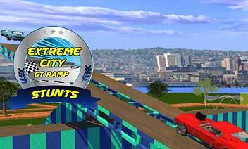 Aşırı şehir GT rampa stunts