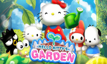 Garden Hello Kitty