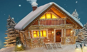 3D de Navidad fondo de pantalla por qhd