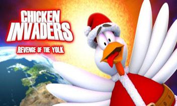 ไก่ Invaders 3 คริสต์มาส