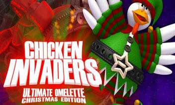 ไก่ Invaders 4 คริสต์มาส