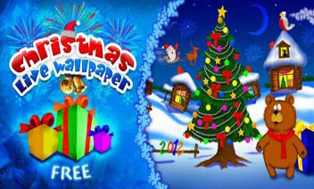 عيد الميلاد لايف مجانا للجدران