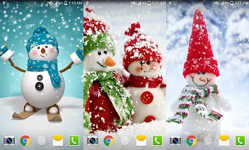 Kerst HD met Live Wallpaper HD