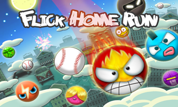 Flick Home Run!  baseballu