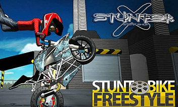 Stunt cykel freestyle